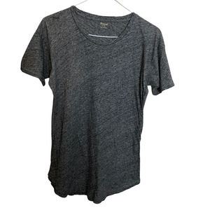 Madewell Gray crewneck 100% cotton t shirt sz xs